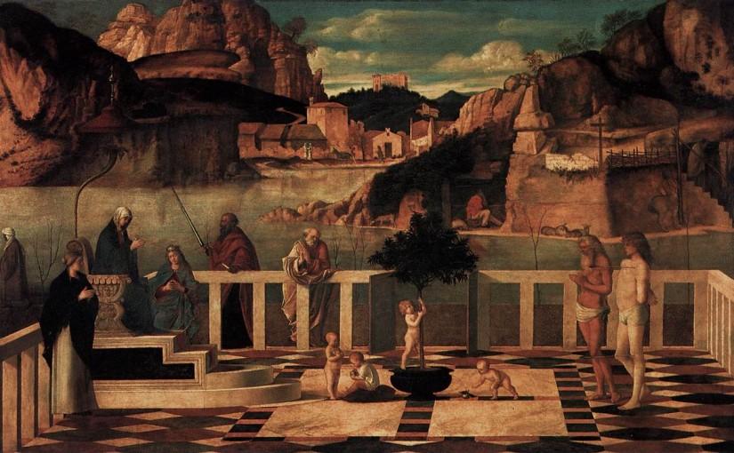 L'allegoria sacra di Giovanni Bellini