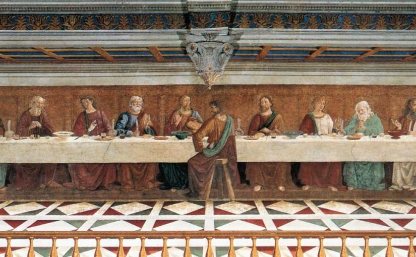 Badia a Passignano e l'ultima cena di Domenico Ghirlandaio